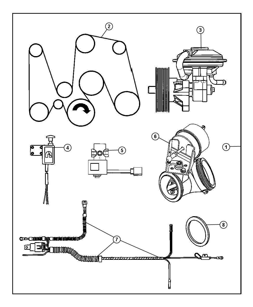 I on Dodge Serpentine Belt Diagram 1999 Ram 1500