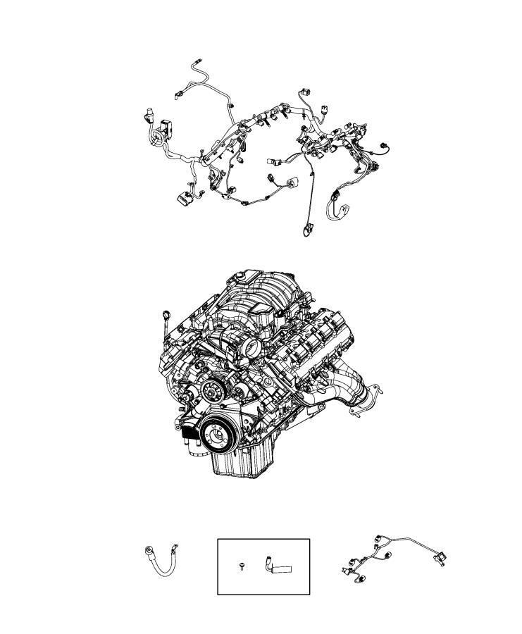 2020 Dodge Durango Heater  Engine Block