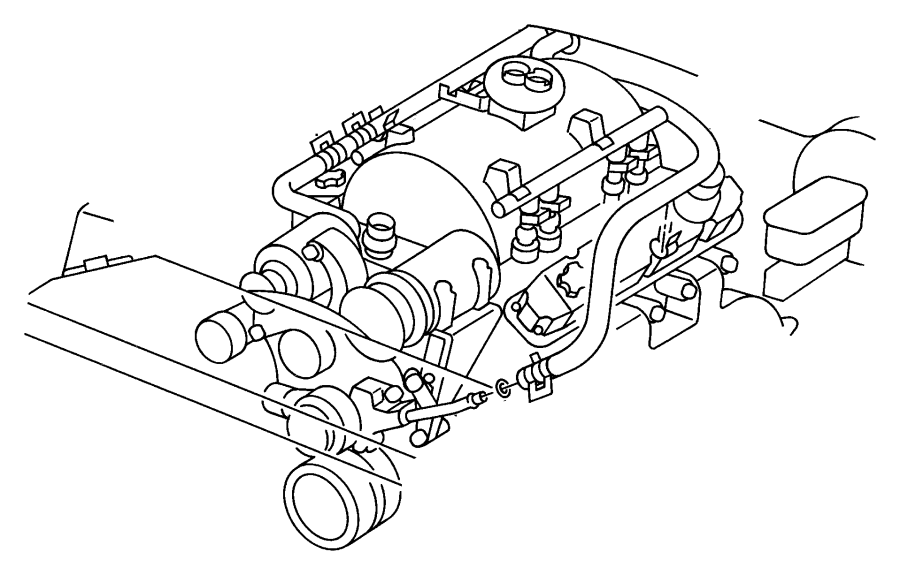 55036160 Dodge Tube Water Pump Inlet Heater Return