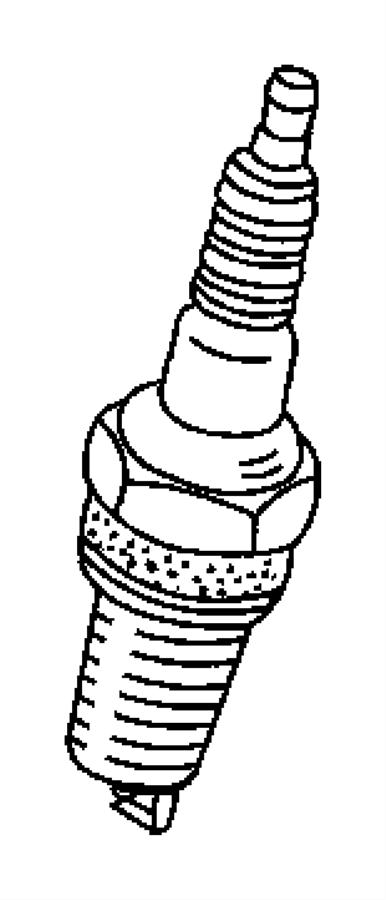 2011 dodge journey spark plug  plugs  ignition  electrical