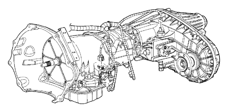 Dodge Ram 5500 Wiring  Transmission   Elec Shift