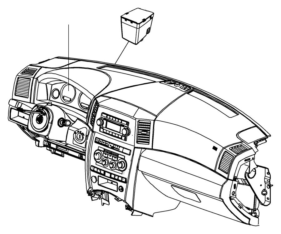 dodge ram 1500 receiver  wireless ignition node  trim