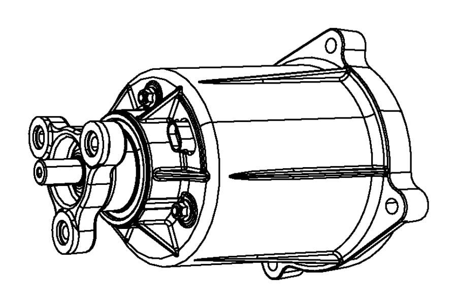 68058066ab  Viscous Unit Kit  Rear Axle   3