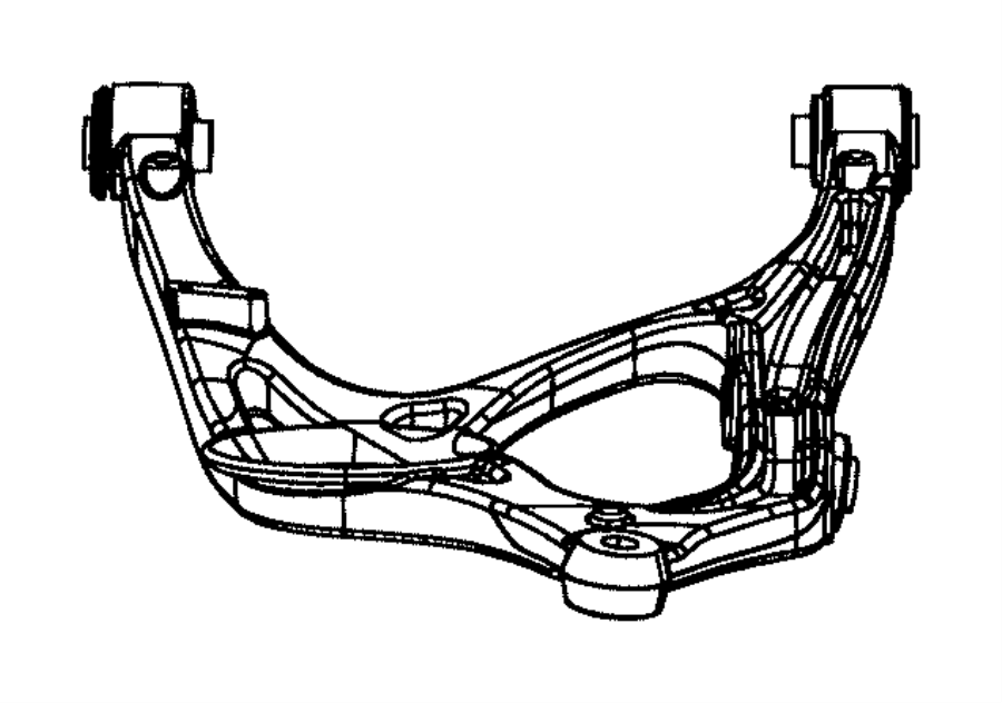 dodge durango arm  lower control  rear  left  suspension