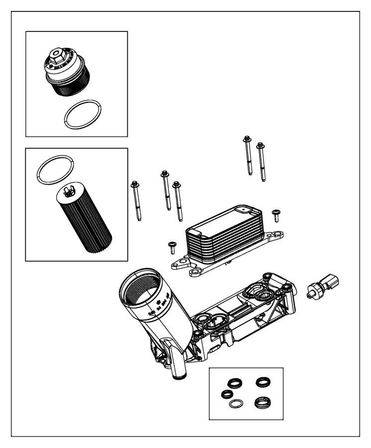dodge durango sensor  oil pressure  temperature  pressure  different  illustration